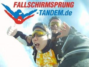 Tandem Fallschirmsprung Geschenk Ticket