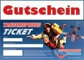 Tandemsprung Gutscheine