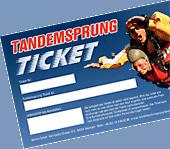 Preis Tandemsprung Ticket