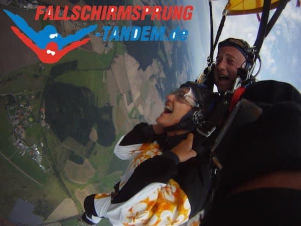 Geschenk Fallschirmspringen Bayern