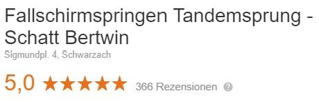 Tandemsprung Bewertung aktuell