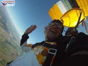Fallschirmsprung Canopy Tandem