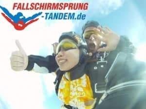Tandemsprung Geschenk Bayern