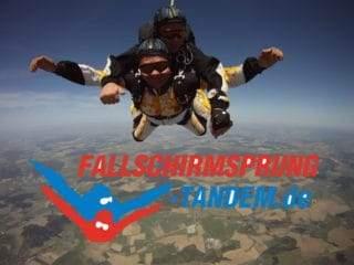 Fallschirmspringen 6000 Meter