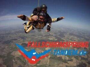 Fallschirmsprung Lächeln Geschenk