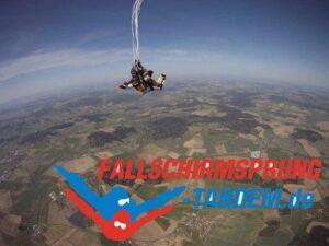 Tandem Fallschirmspringen Hauptschirm
