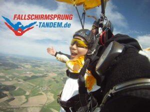 Tandemspringen Fallschirmsprung Geschenk