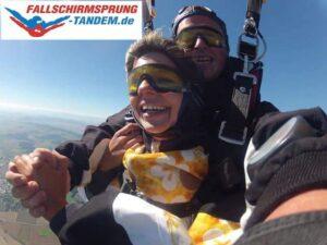 Tandemsprung Fallschirm Bayern