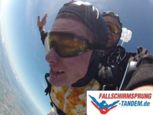 Geschwindigkeit Fallschirmsprung