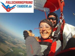 Tandemkappe Fallschirm Jump