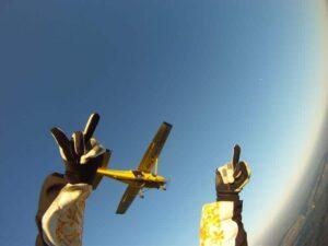 Fallschirm Tandemspringen