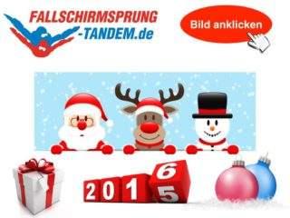 Weihnachtsgeschenk 2017 - Tandemsprung 2018