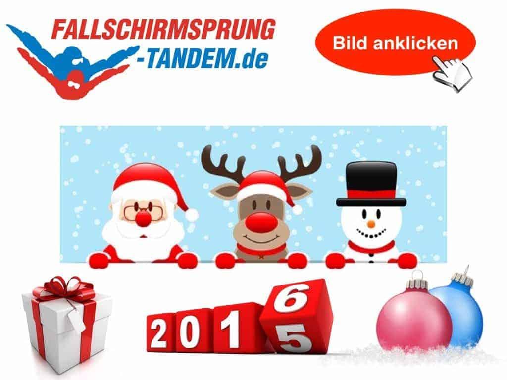 Tandemsprung Geschenk Weihnachten