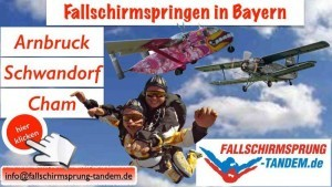 Tandemsprung in Bayern
