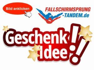 Tandemsprung Geschenk Flugplatz