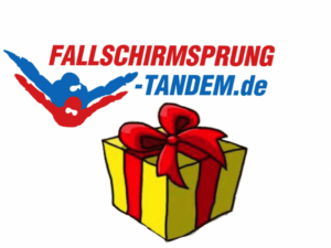 Logo Geschenk Geburtstag Fallschirmsprung