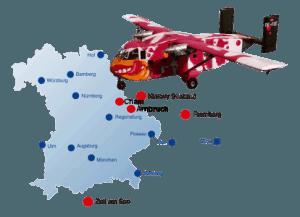 Fallschirmspringen Bayern Fallschirmsprung