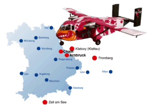 Sprungplatz Tandemsprung - Fallschirmspringen Flugplatz