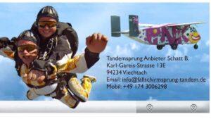 Cham Oberpfalz Tandemsprung Fallschirmspringen