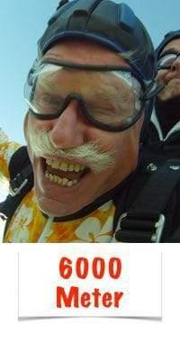 Fallschirm Tandemspringen 6000 Meter