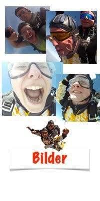 Emotionen beim Fallschirm springen