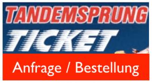 Tandemsprung Geschenkidee Fallschirmspringen