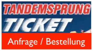Tandemsprung Geschenkidee Fallschirm springen