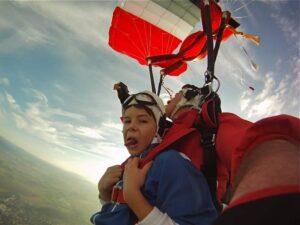 Tandemsprung Ablauf Fallschirmspringen