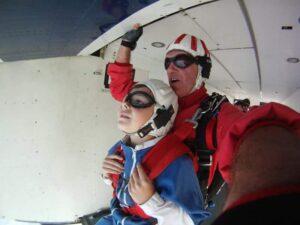 Fallschirm Tandemsprung Geschenk 2017