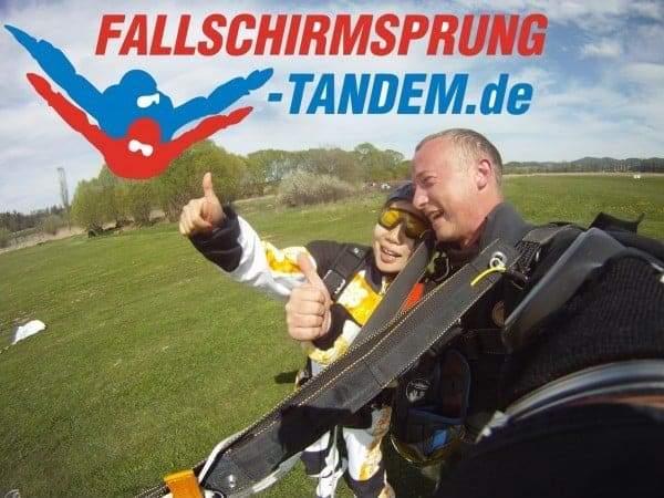 Fallschirmsprung 4300 Meter
