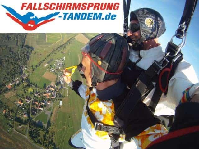 Wochenende Event Fallschirmspringen