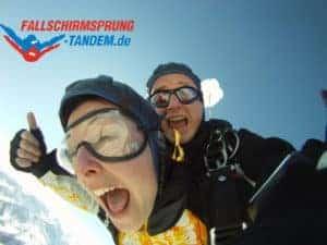 Erlebnis Tandem Fallschirmsprung