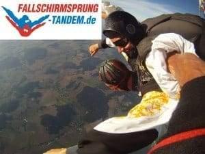 Fallschirmspringen Bayern Tandemspringen