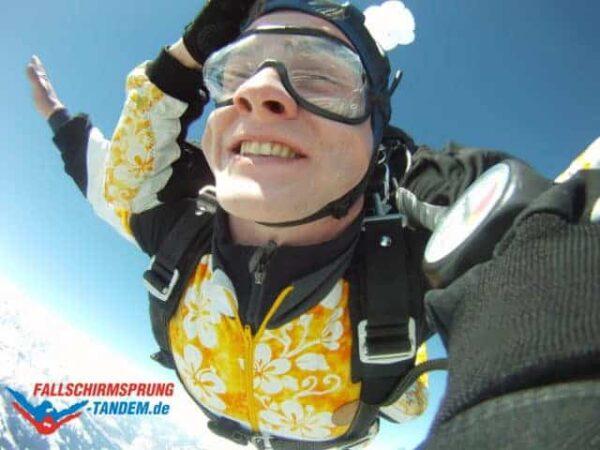 Fallschirmspringen Gewicht Tandemsprung
