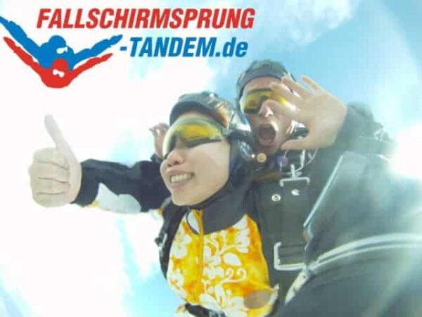 Fallschirmspringen in Bayern Cham Rothenburg Arnbruck Klattau