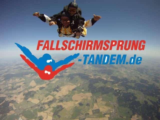 Geschenk Idee Fallschirmspringen