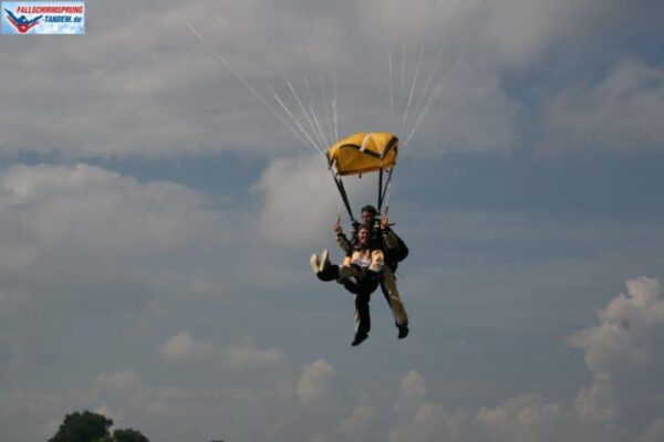 6000 Meter Tandem Fallschirmsprung