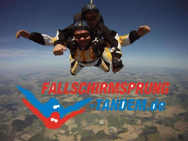 2017 Fallschirmspringen Erlebnis