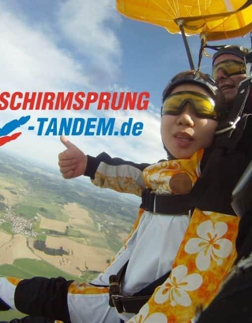 6000 Meter Tandemspringen