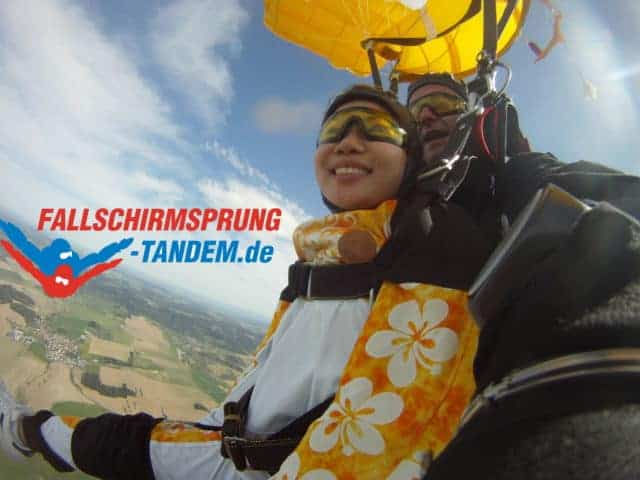 Bayern Tandemsprung Erlebnis