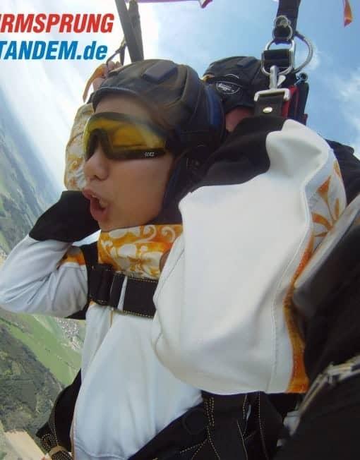 4300 Meter Tandemspringen