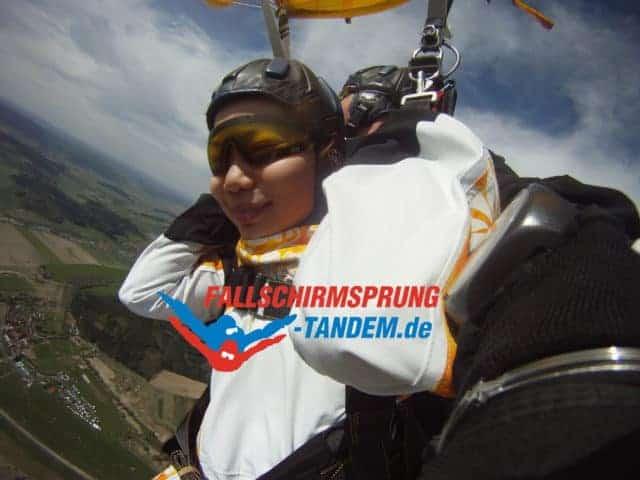 Fallschirm Tandemsprung Infos