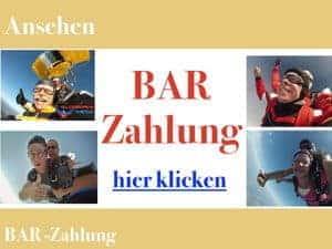 Bar Fallschirmspringen Tandemsprung