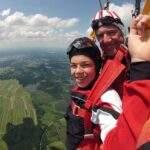 Niederösterreich Fromberg Tandem Fallschirmsprung