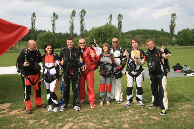 Fallschirmspringen Tandemmaster Team
