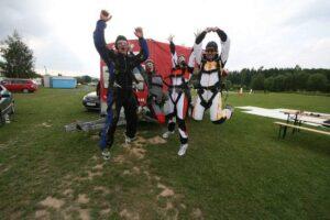 Gruppenevent Klattau Tandemsprung