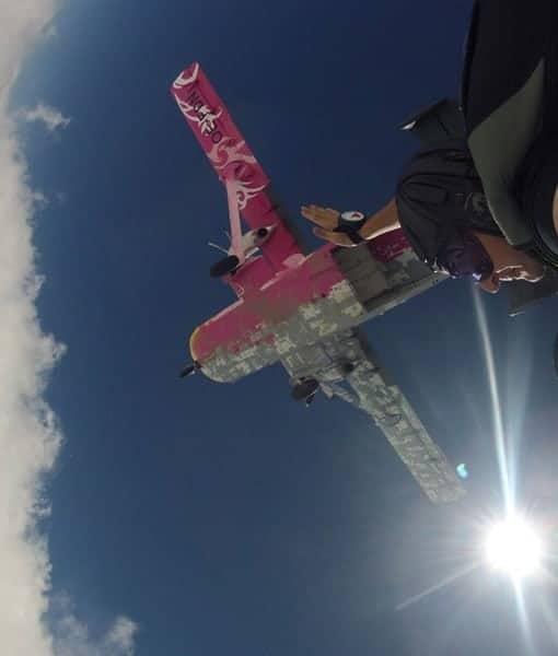 Fallschirmsprung BAR Zahlung