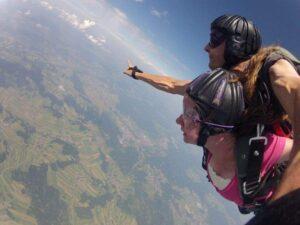 Fallschirmspringen Klatovy Tandemsprung