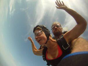 Tandemsprung Abenteuer