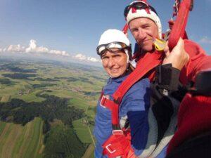 Tandemsprung Kirchberg Niederösterreich Geschenk Gutschein
